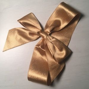 Satin Baby Bow Head Band